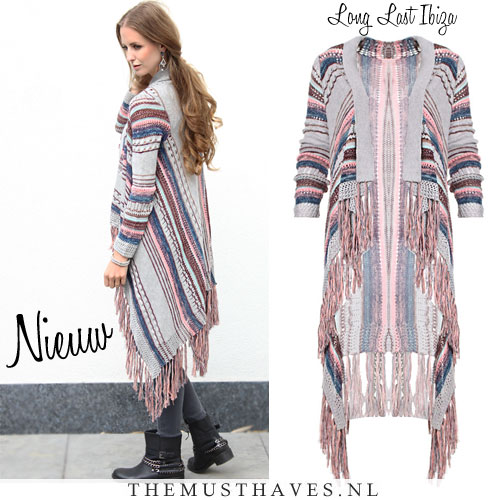 New Lang vest met franjes | The Musthaves &LL86