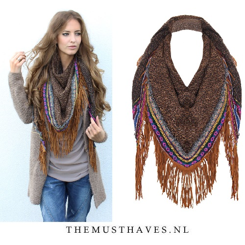 Musthave Bohemian Sjaal