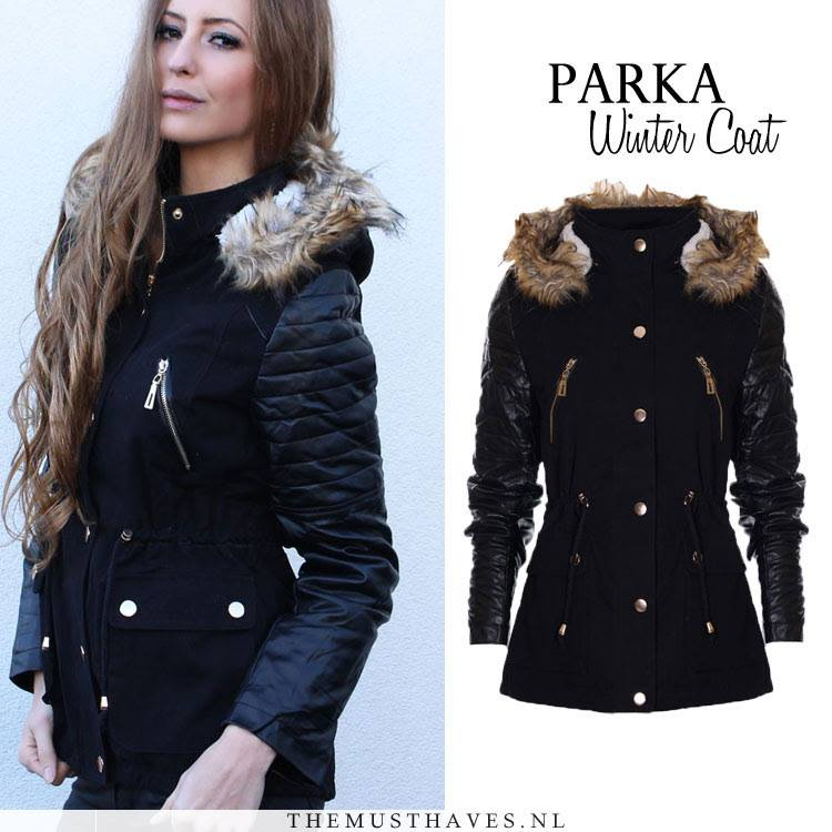 Stoere Winterjas.Parka Winterjas Dames Online The Musthaves