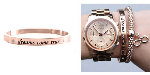 Dreams Come True Armband Rose The Musthaves
