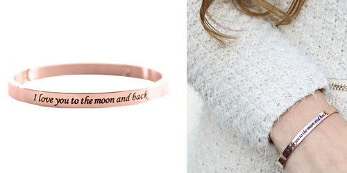I Love You To The Moon And Back Armband The Musthaves
