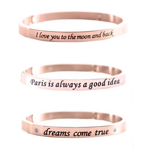 armbanden met tekst the musthaves