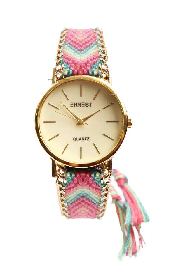 Pastel Aztec Watch