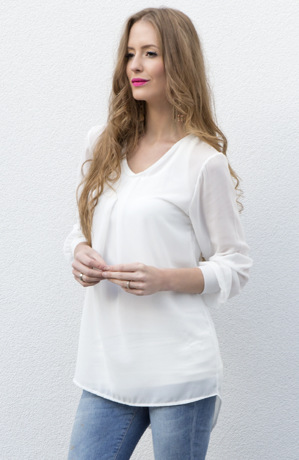 witte dames blouse online