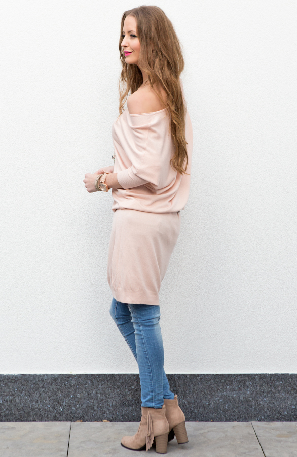 Roze Oversized Trui.Oversized Trui The Musthaves