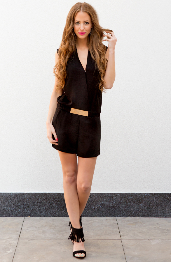 playsuit zwart dames