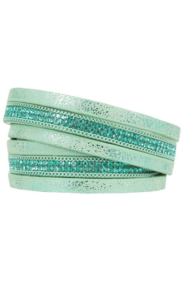 Wrap Around Bracelet Mint