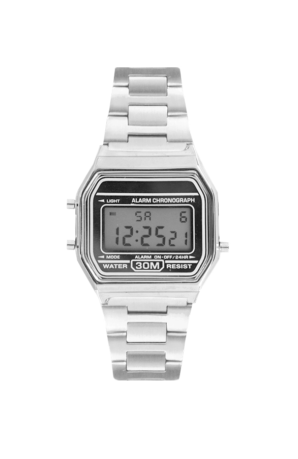 Retro Watch Silver