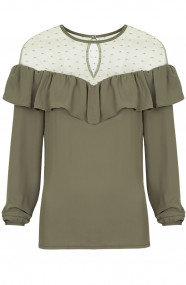 Saint Tropez Blouse Army