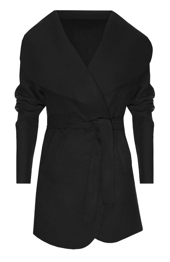 Short Dream Coat 2.0 Black